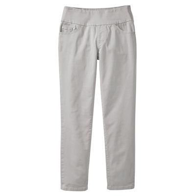 JAG Bay Twill Amelia Slim Pull-On Ankle Pants