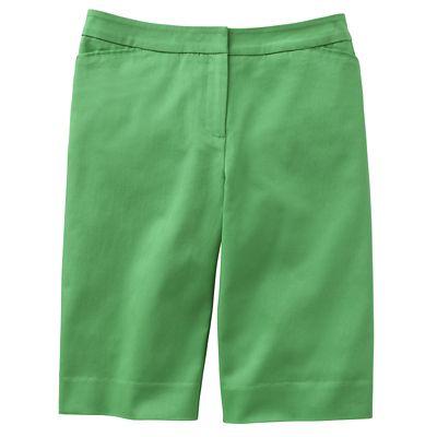 Classic Fit Perfect Fit Bermuda Shorts