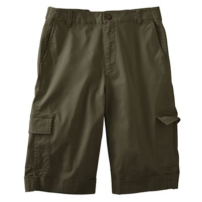 Original Fit Colored Twill Cargo Shorts