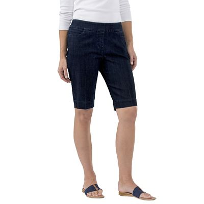 Classic Fit Slim-Sation Denim Bermudas