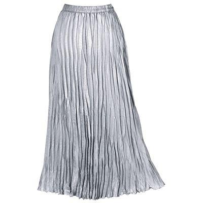 Plus Size Metallic Crinkle Skirt
