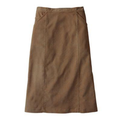 Microcord Boot Skirt