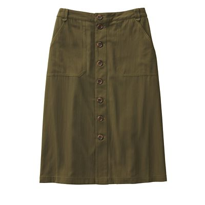 Updated Ultimate Twill Skirt