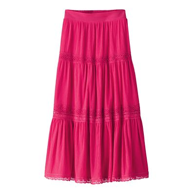 Contessa Crinkle Cotton Skirt