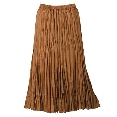 Caitlin Crinkled Skirt
