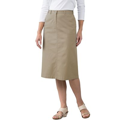 Original Fit Stretch Twill Skirt