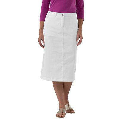 Original Fit Stretch Twill Skirt