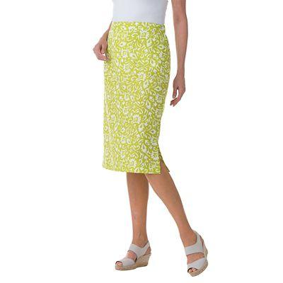 Woodblock Print Skirt