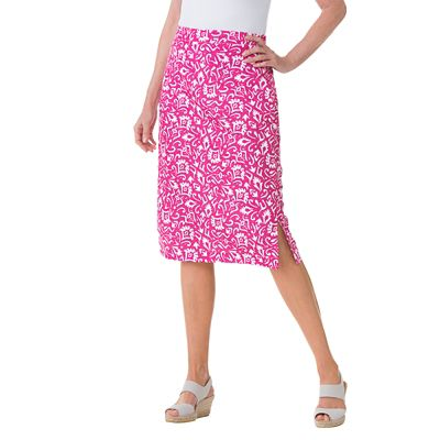 Woodblock Print Skirt