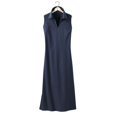 Plus Size No-Hassle Linen Sleeveless Dress
