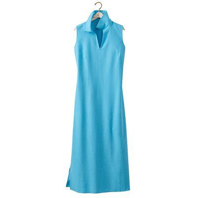 No-Hassle Linen Sleeveless Dress