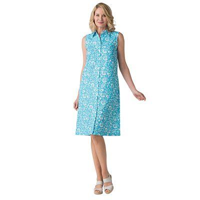 Microfiber Shirt Dress