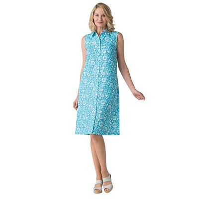 Women's Microfiber Shirt Dress