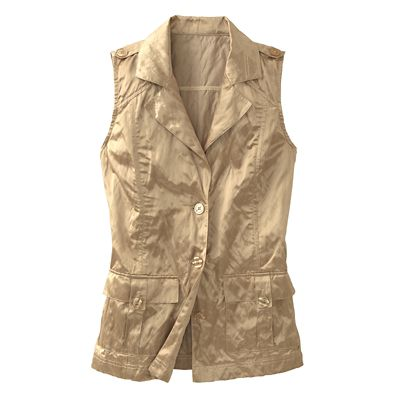 City Safari Crinkle Vest