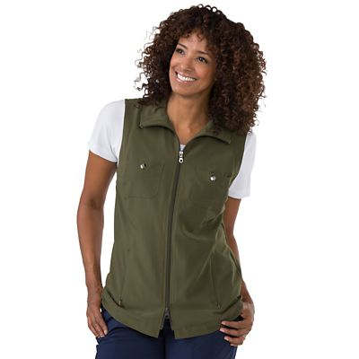 Plus Size Sport Zip Vest