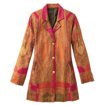 Grand Paisley Jamevar Jacket