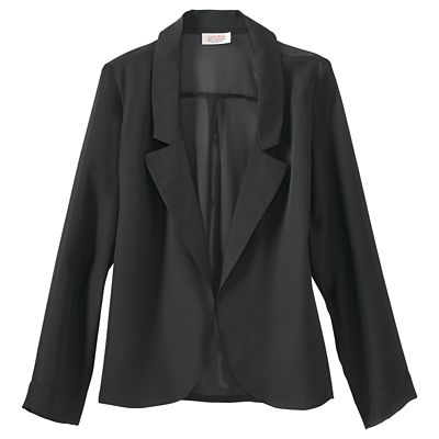 Samantha Brown Sheer Blazer