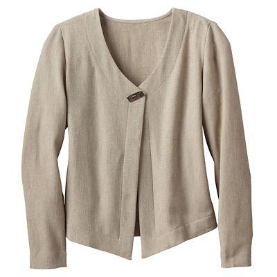 TSO Light & Lively Crepe Jacket