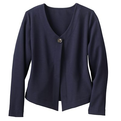TSO Light & Lively Crepe Jacket