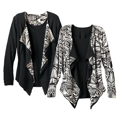Reversible Flutter Jacket