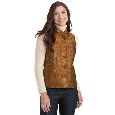 Orissa Silk Shantung Reversible Vest