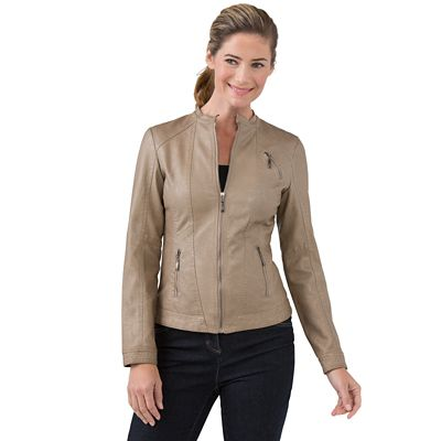 Women's Ravello Faux Leather Jacket