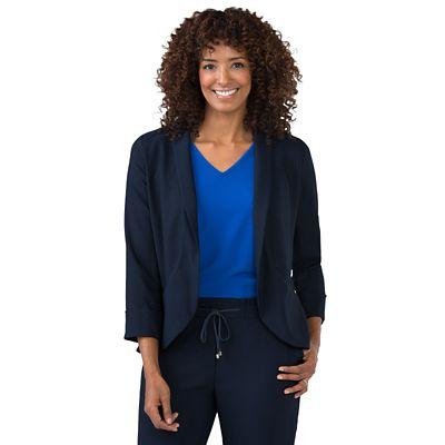 Samantha Brown Crepe Tuxedo Jacket