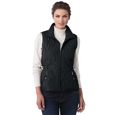 Plus Size Weatherproof® Quilted Vest