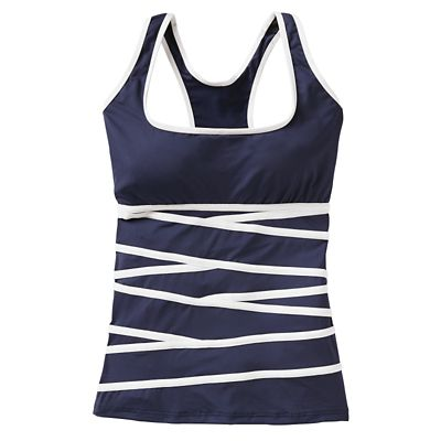 Women's Nautica Signature Tankini Top
