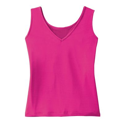 Essential Slimming Reversible-Neck Tank