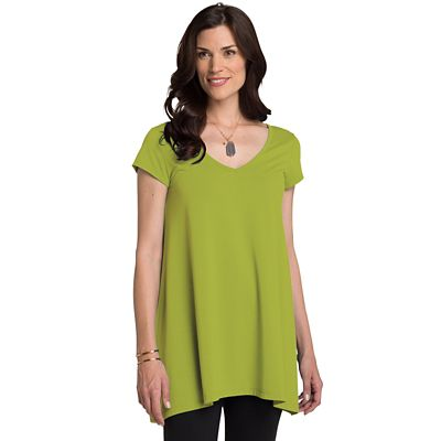 Traveler Convertible Neckline Tunic