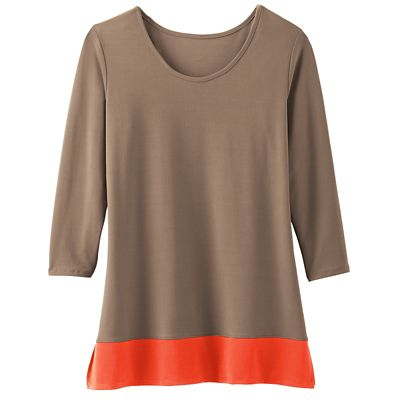 Jet Set Knit Updated Colorblock Tunic