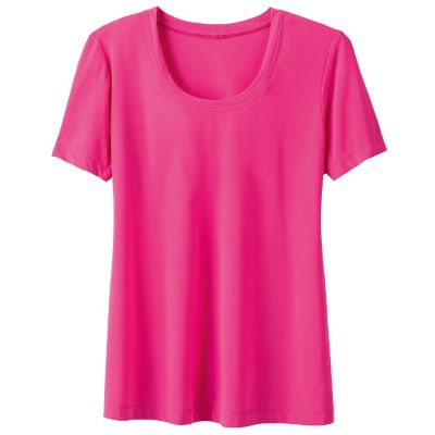 Walkabout Knit Isabella Scoopneck Solid Tee