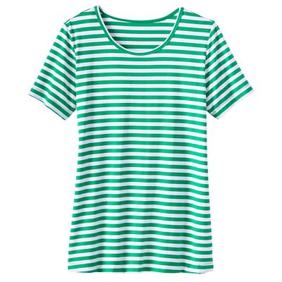 Short-Sleeve Striped Tee