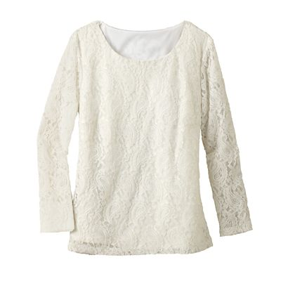 Paisley Lace Tee