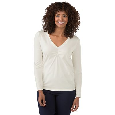 Women's TSO Ruched V-Neck Top