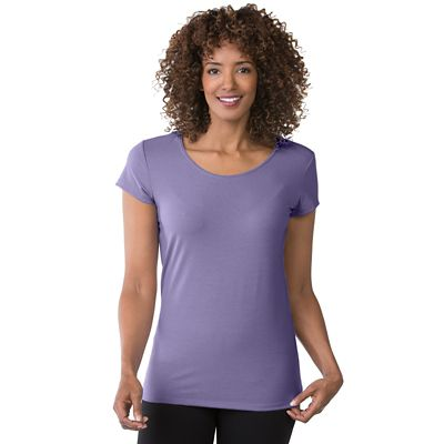 Plus Size Essential Knit Short-Sleeve Tee