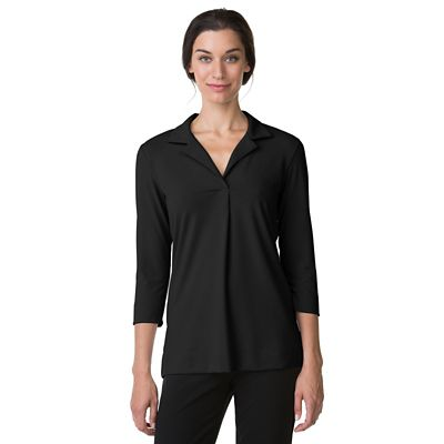 Plus Size Essential Knit 3/4-Sleeve Shirt