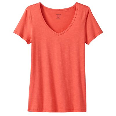 Marley Striped V-Neck Tee by Toad&Co