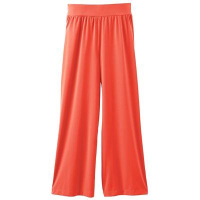 Plus Size Original Fit Jet Set Knit Crop Pants - Traditional Fit