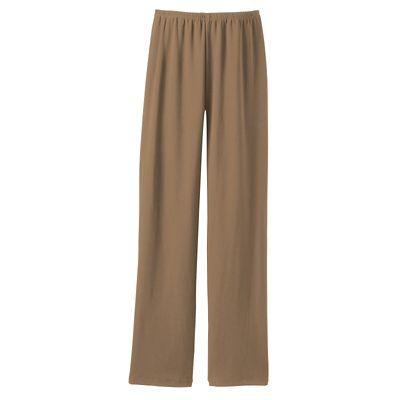 Plus Size Original Fit Jet Set Knit Slim Pants - Traditional Fit