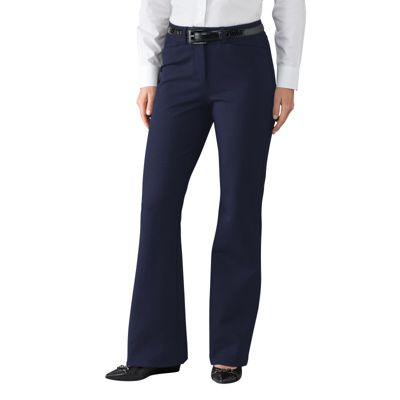 Classic Fit Travel Ponte Trousers