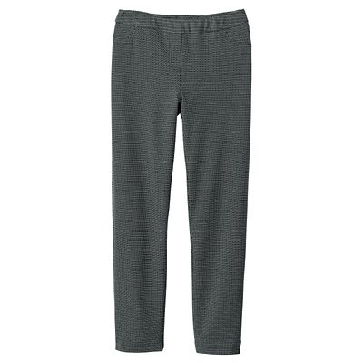 Classic Fit Samantha Brown Knit Pull-on Pants