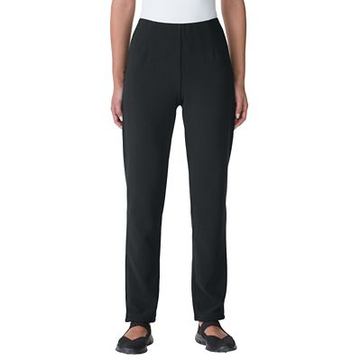 Classic Fit Ottoman Slim Ankle Pants