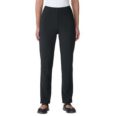 Classic Fit Ottoman Slim Ankle Pants