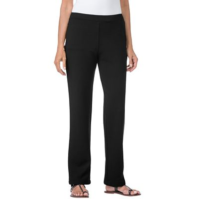 Classic Fit Ponte Straight Leg Pants
