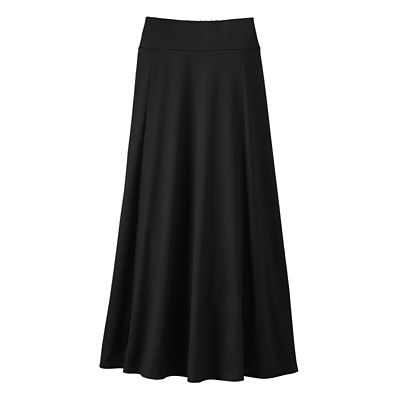 Plus Size Indispensable Long Travel Skirt