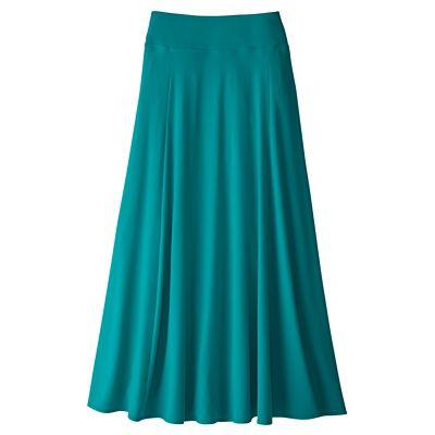 Plus Size Indispensable Long Travel Skirt