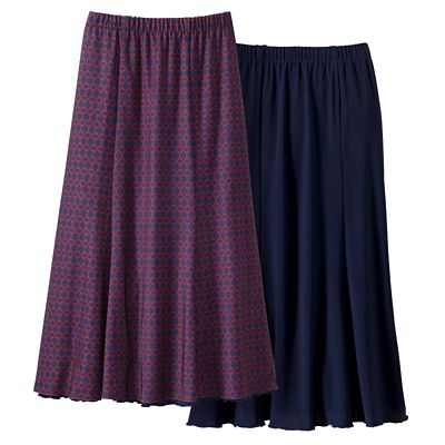 Walkabout Knit Reversible Skirt