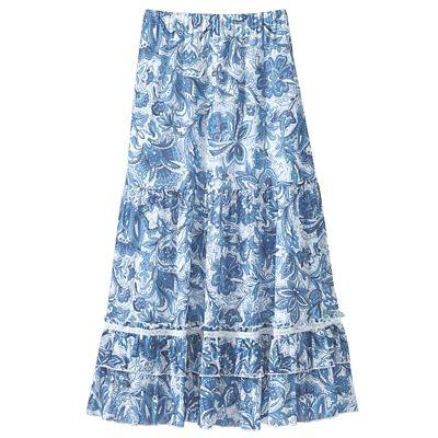 Gossamer Mesh Skirt